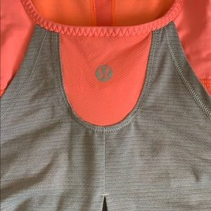 Gently used work out Lululemon Athletica top